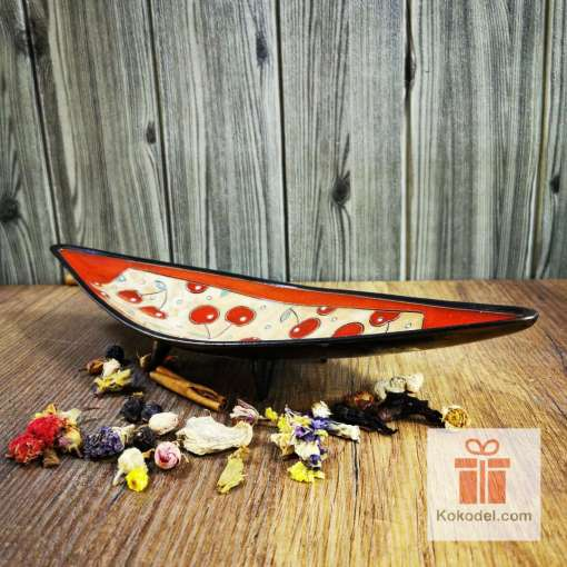 керамична фруктиера гондола черешки
