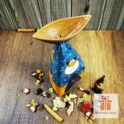 керамичен свещник котки