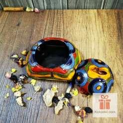 керамична кутийка захарница