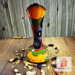 керамична ваза тип шише