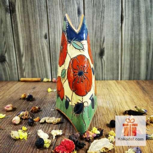 ваза за цветя макове