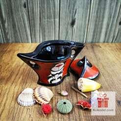 керамична захарница котка райе
