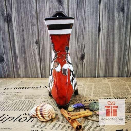 керамична ваза котка