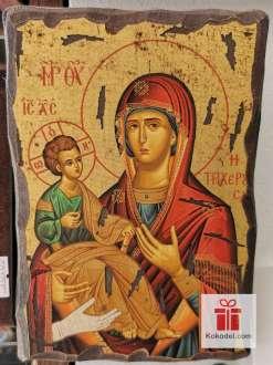 Чудотворната икона Св. Богородица, Троеручица