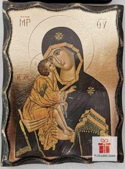 Репродукция икона 039 Св. Богородица с младенеца - Умиление
