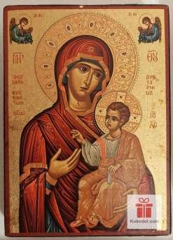 Рисувана икона 04 Св. Богородица с младенеца