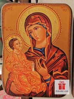 Репродукция икона 049 Св. Богородица с младенеца