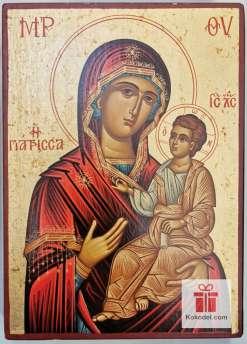 Рисувана икона 05 Св. Богородица с младенеца