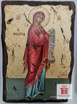 Рисувана икона 09 Св. Богородица