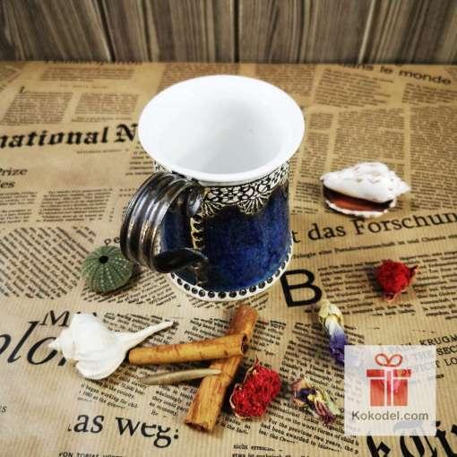 синя чаша за кафе или чай