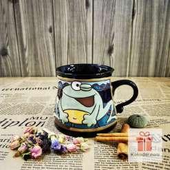 Забавна керамична чаша Жаба