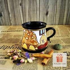 Забавна керамична чаша Костенурка
