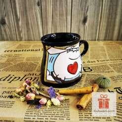 Забавна чаша Слонче-сърчице