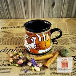 Забавна чаша котка Гарфийлд