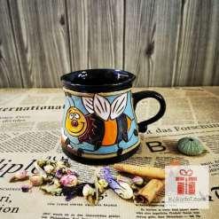 Забавна керамична чаша Пчеличка