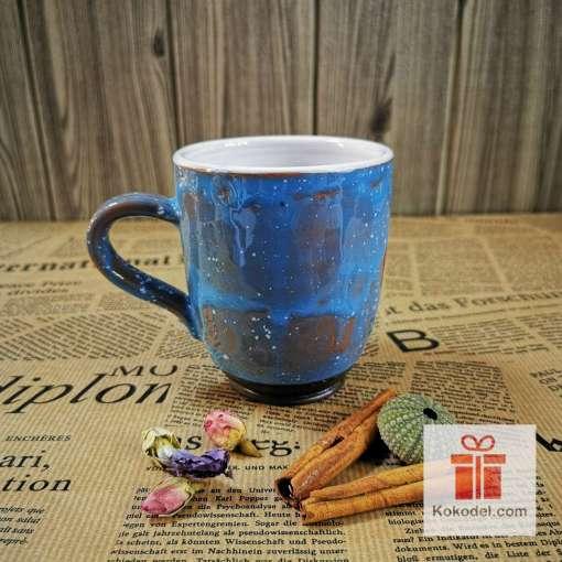 Арт синя чаша Прасенце