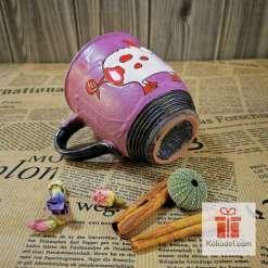 Арт розова чаша Прасчо