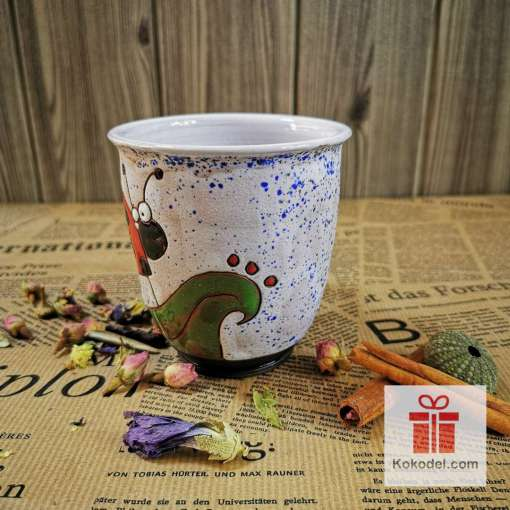 Арт чаша Калинка - ден