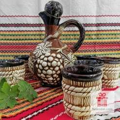 Комплект за вино - Грозданка