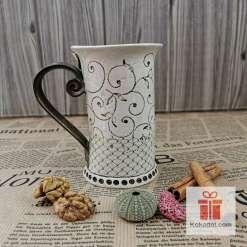 Чаша за чай Елеганс - коприна