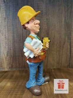 Забавна Статуетка Строителен инженер