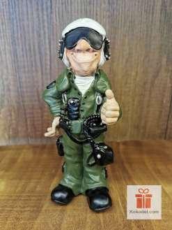 Забавна Статуетка Пилот