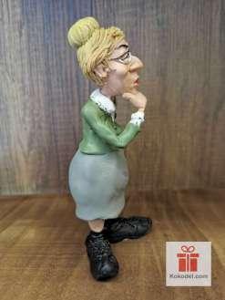 Забавна Статуетка учителка