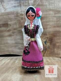 Кукла с българска носия 017