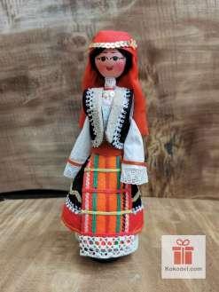 Кукла с българска носия 025