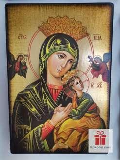 Репродукция икона 061 Св. Богородица с младенеца (с архангели)