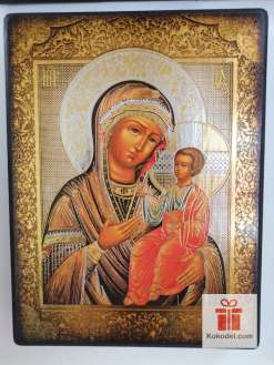 Репродукция икона 064 Св. Богородица с младенеца