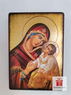 Репродукция икона 073 Св. Богородица с младенеца