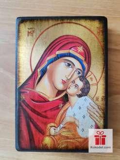 Репродукция икона 072 Св. Богородица с младенеца - Умиление