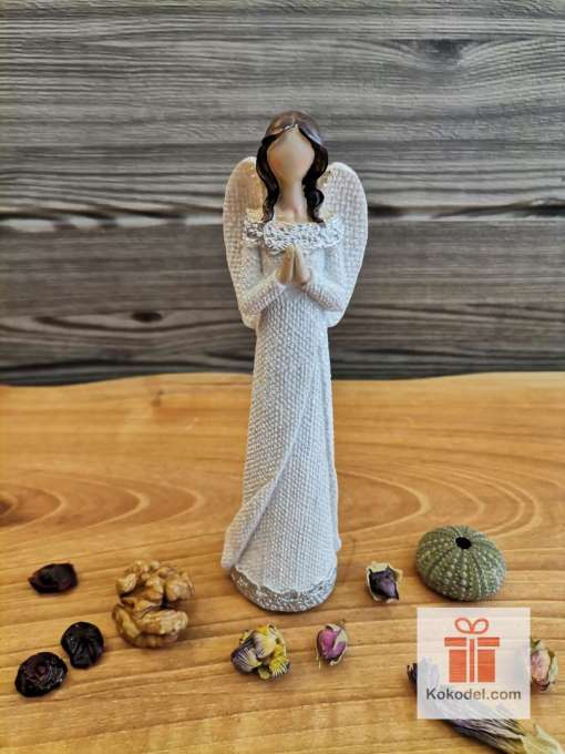 Керамично ангелче Жена