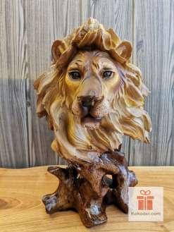 Статуетка Лъв - Лъвска глава