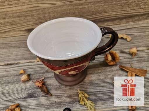 Червена чаша за чай - Ориент