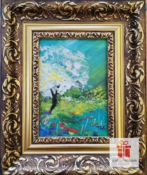 Рисувана картина Пролетна приказка