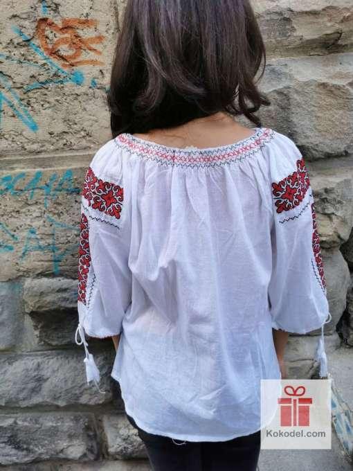 Бродирана риза шевици 01