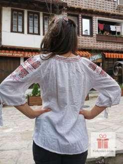 Бродирана риза шевици 010