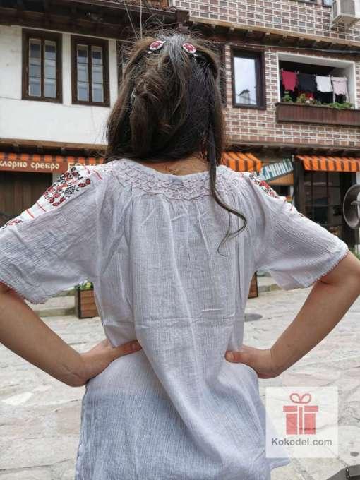 Бродирана риза шевици 012
