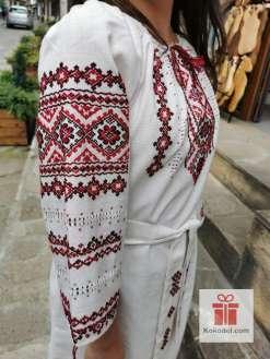Ръчно бродирана рокля Шивици 013