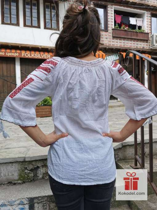 Бродирана риза шевици 02