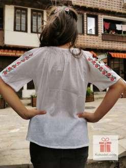 Бродирана риза Рози 06