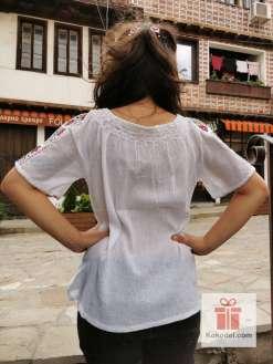 Бродирана риза шевици 07