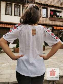 Бродирана риза шевици 08