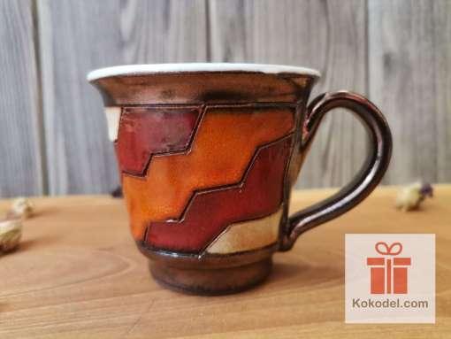 Керамична чаша за еспресо Черга