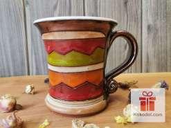 Керамична чаша за кафе Черга