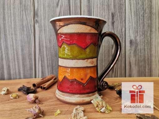 Керамична чаша за чай Черга