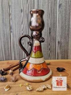 Керамичен свещник Черга - малък