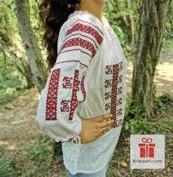 Бродирана риза шевици 017